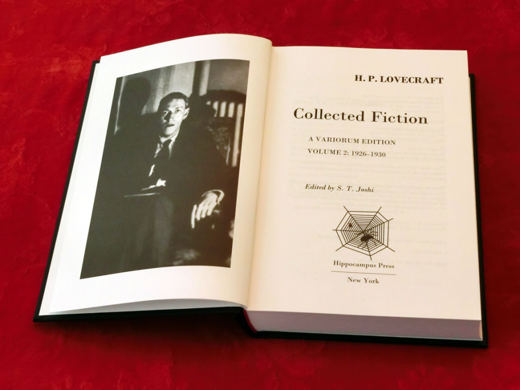 Inside HPL Picture: H. P. Lovecraft's Collected Fiction: A Variorum Edition